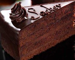 Padla by aj vám teraz Sacherova torta?