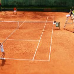 Tenisový tréner pre deti