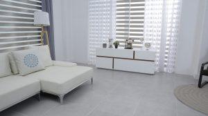 Biele obývacie steny a ich výber
