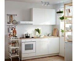 Kouzlo malých kuchyní se skrývá v jejich zařízení